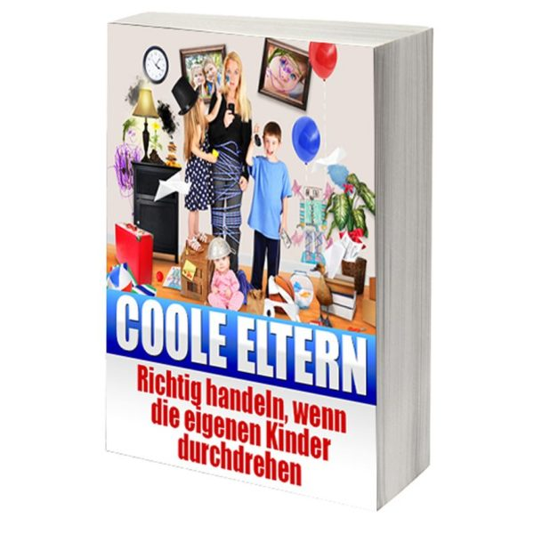 eBook Cover: Coole Eltern