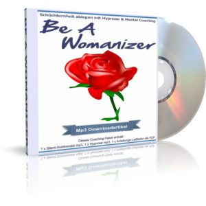 Audiobook (Hörbuch) Cover: Be A Womanizer