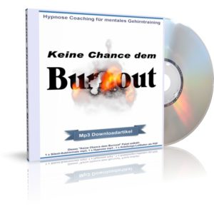 Audiobook (Hörbuch) Cover: Keine Chance dem Burnout