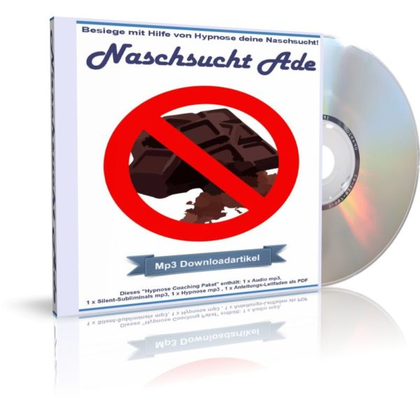 Audiobook (Hörbuch) Cover: Naschsucht Ade