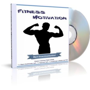 Audiobook (Hörbuch) Cover: Meine Fitness Motivation