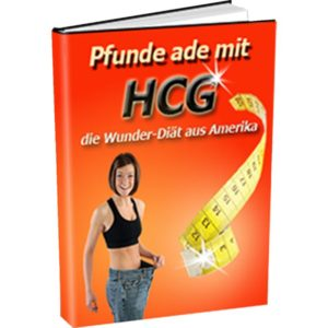 eBook Cover: Pfunde Ade mit HCG